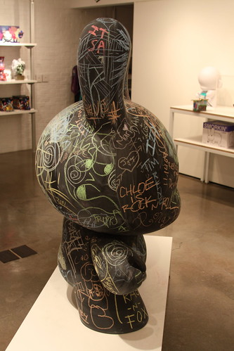 JUNE 16, 2011: 'Chalk It Up' Daily Dunny (side view) | by The Cosmopolitan of Las Vegas
