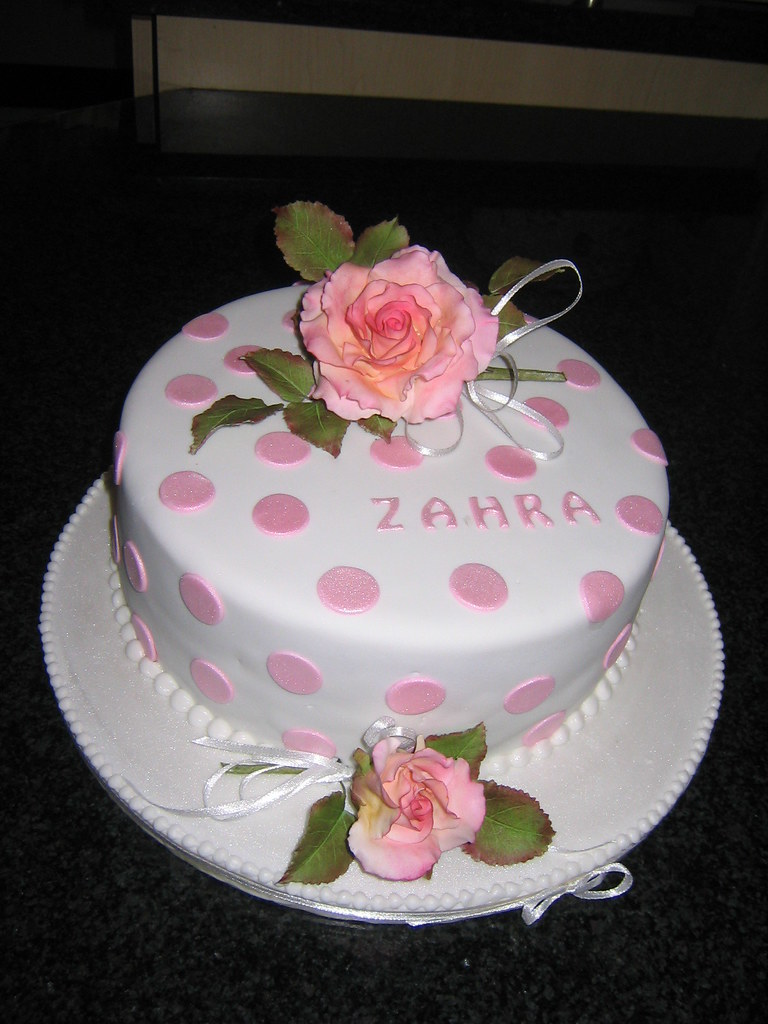 Zahras birthday cake Susan Diana Edgcumbe Flickr
