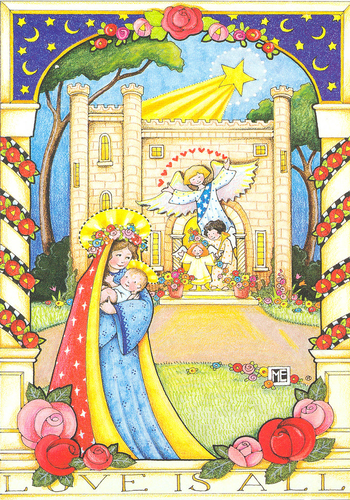 Mary Engelbreit Madonna and Child Christmas Card | Mary Pat | Flickr