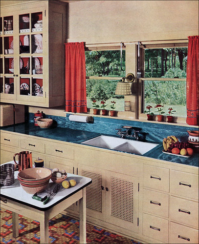 1936 Kitchen With Linoleum Counter This Particular Image