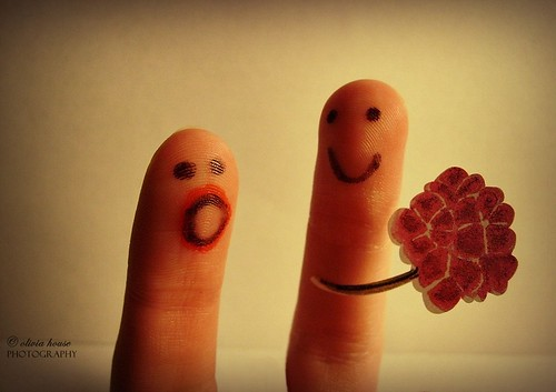 Mr. Finger's Big Suprise. | by olivia house