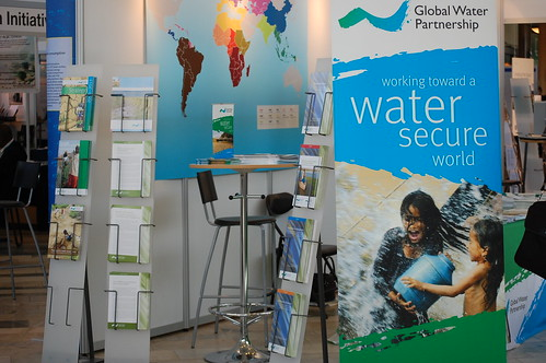 World Water Week stands | by ESRC STEPS Centre