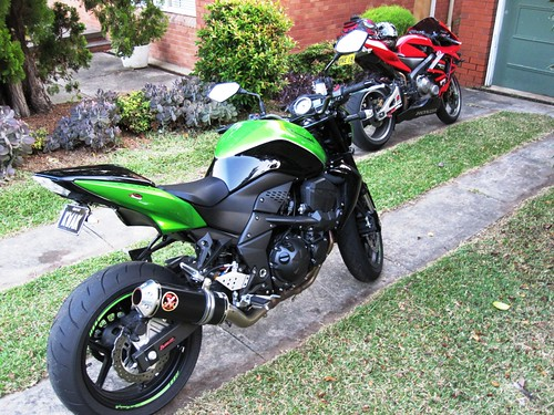 Kawasaki Z Seat