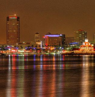 Long Beach at night | by kevin dooley