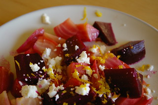 Roasted beet salad | by pui wong {as*q}