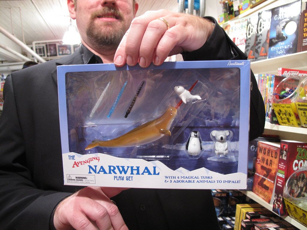 The Avenging Narwhal Playset One Of The Many Gems At Golde Flickr