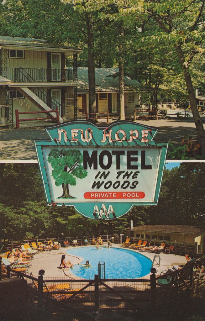New Hope Motel - Bucks County, Pennsylvania