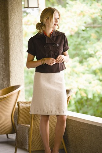 Short  Row Skirt | by kat coyle