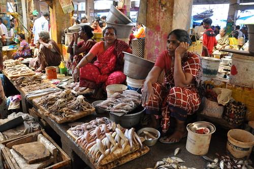 Fish Market Pondicherry Sam Denny Lawton Flickr