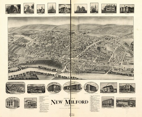 View of New Milford, Conn. 1906. | by uconnlibrariesmagic