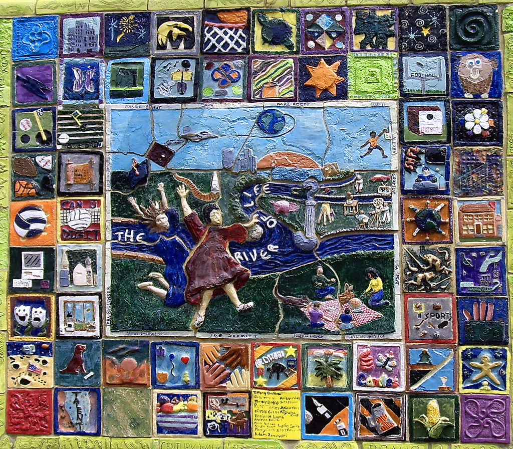 the River of Life.' Clay Story Quilt No.4 -- Napervill… | Flickr : quilt life - Adamdwight.com
