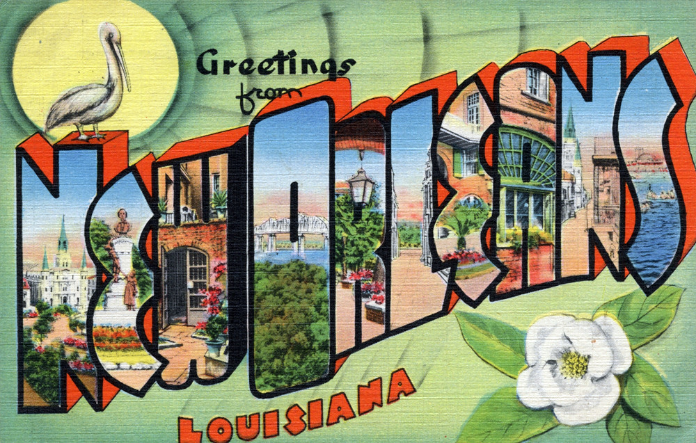 Greetings from new orleans louisiana large letter postc flickr greetings from new orleans louisiana large letter postcard by shook photos m4hsunfo