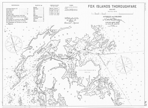Fox Islands Thoroughfare, Maine | by uconnlibrarymagic