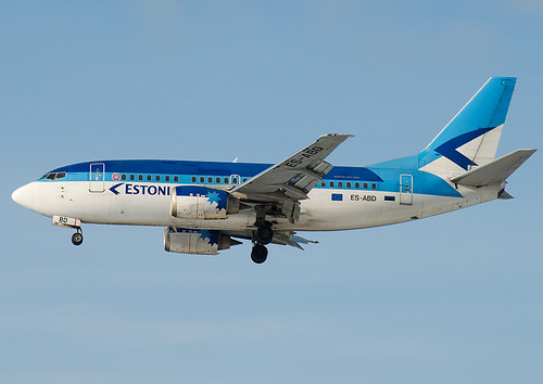ES-ABD Estonian Air  Boeing 737-5Q8 | by Osdu
