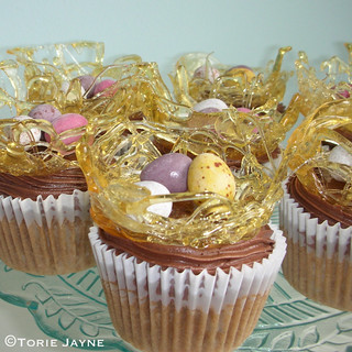 Gluten free Easter toffee apple cupcakes! | by toriejayne