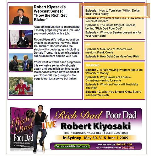 robert kiyosaki free pdf books