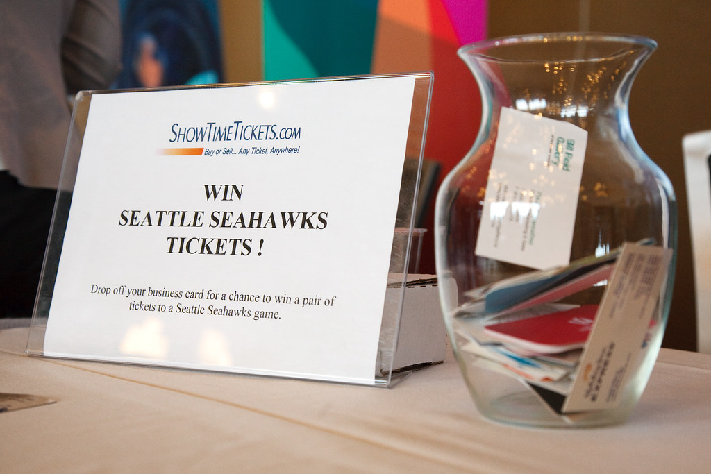 Business Card Draw - 2 free Seahawks tickets | ShowTimeTickets ...