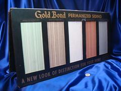 Gold Bond Asbestos Cement Siding Salesman Sample Kit   Flickr
