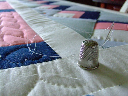 The process of hand quilting | by Andrea_R