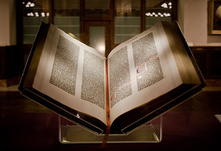 Gutenberg Bible | by amy allcock