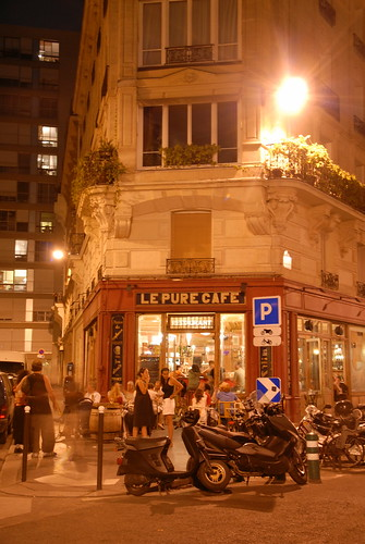 le pure cafe at night le pure caf 14 rue jean mac 11 flickr. Black Bedroom Furniture Sets. Home Design Ideas