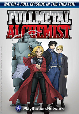 Fullmetal Alchemist airing this week in the PlayStation Home Theater | by PlayStation.Blog