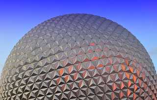 Spaceship Earth at Golden Hour | by PhotoNut2010