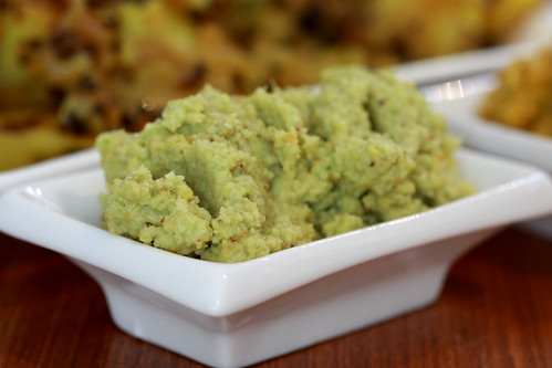 Green Coconut Chutney | by vegan4everyone