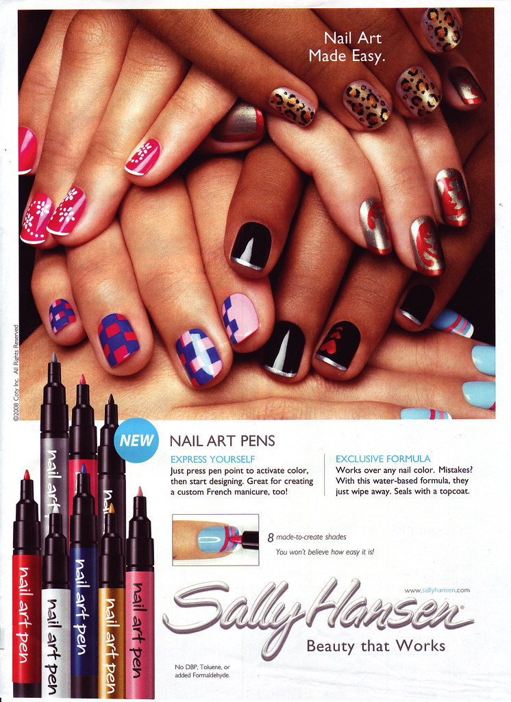 Sally Hansen Nail Art Pens | For more info: www.gadgetspage.… | Flickr