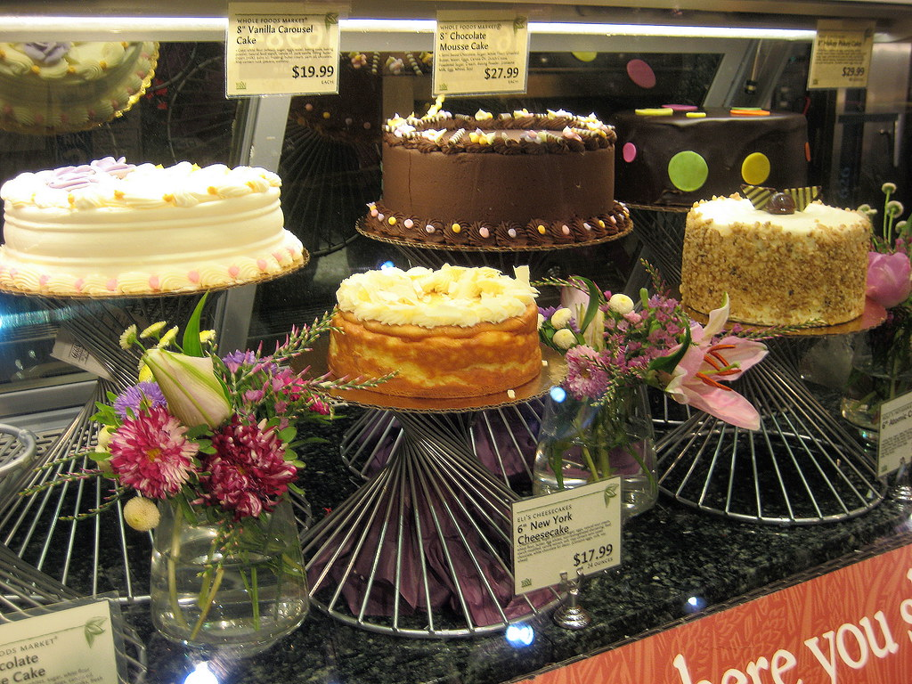 Cake at Willowbrook Whole Foods Market | Kate Skegg | Flickr