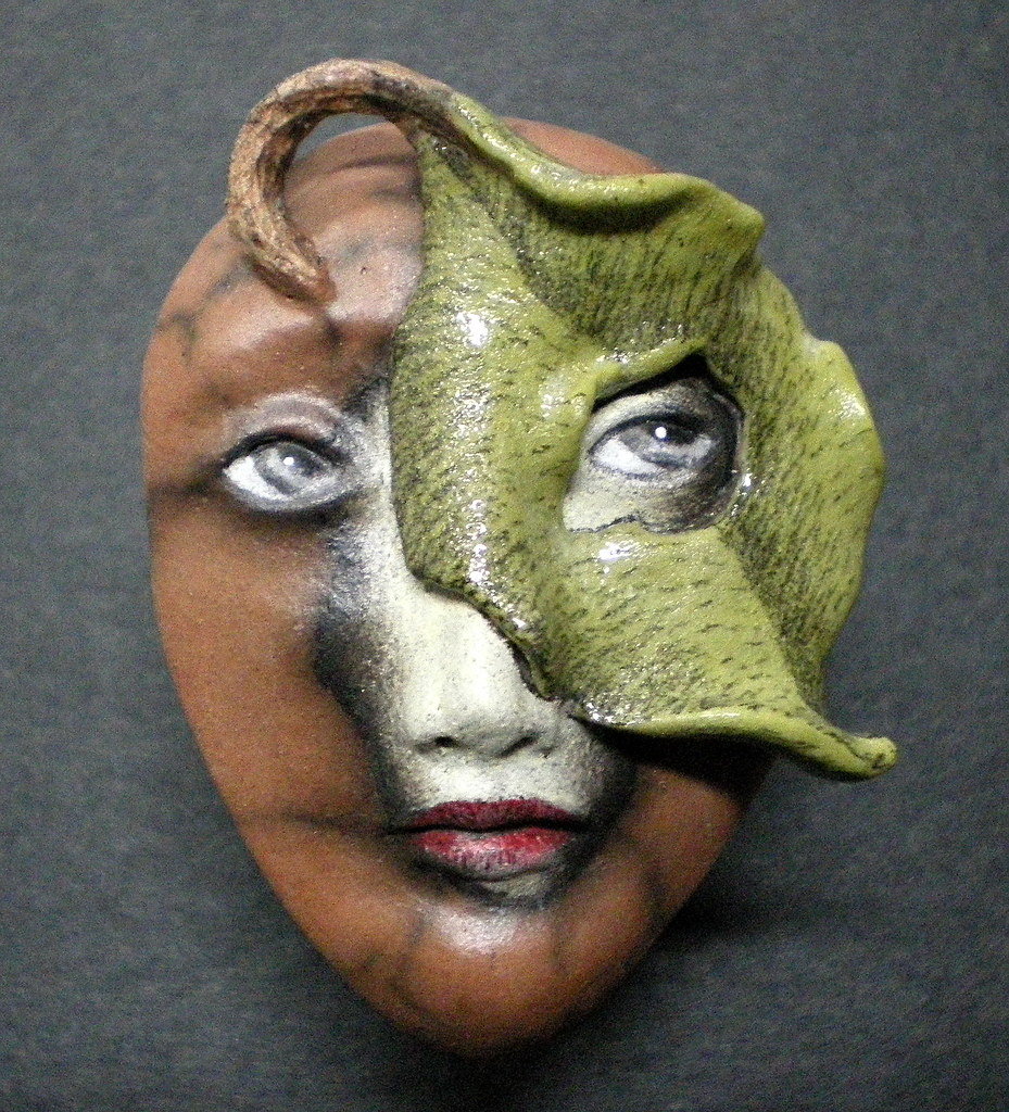 under the apple tree - #356 | unmasked.etsy the-maskwoma… | flickr