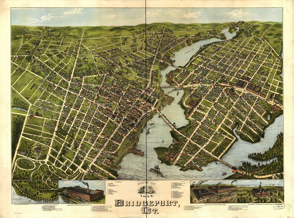 View of Bridgeport, Ct. | Full Quality, Georeferenced Versio… | Flickr