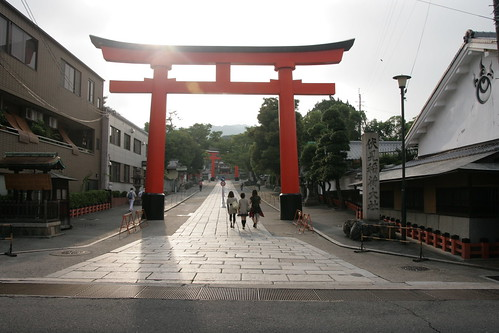 Fushimi-Inari-Taisha Shrine, image copyright mmckeay