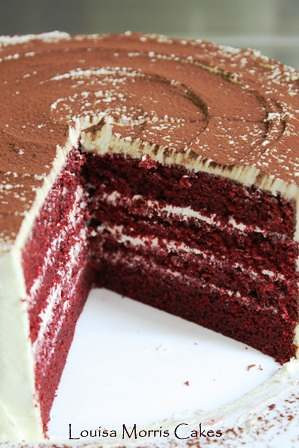 Red velvet cake | by Louisa Morris Cakes
