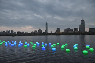 MIT+150: FAST (Festival of Art + Science + Technology): FAST LIGHT — Light Drift | by Chris Devers