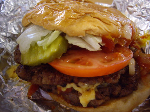Burger from Five Guys | by swampkitty