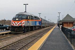 Metra MD-W outbound train 2239 | by contemplative imaging
