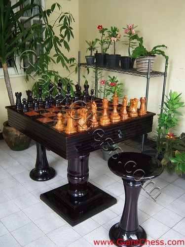 Outdoor Chess Table Chess Table Is One Of Chess Game