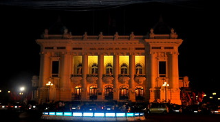 Hanoi Opera House at Night | by Eustaquio Santimano