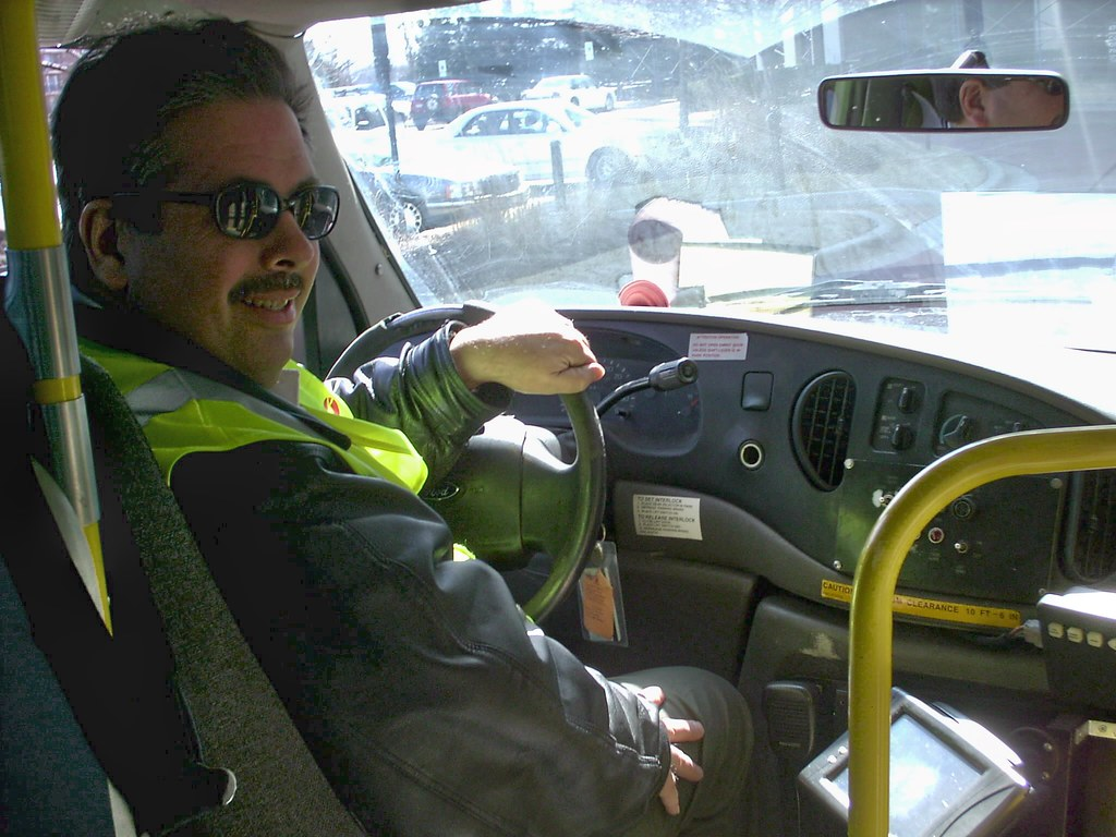 eddie k in training as a paratransit driver niles illinoi flickr eddie k in training as a paratransit driver niles illinois 2008