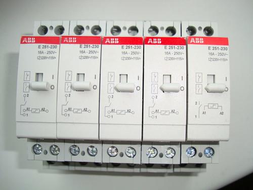 5 Stück ABB Stromstossschalter E251-230 | S/N ...