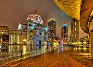 When its raining in Boston, grab the tripod and venture out! | by MDSimages.com
