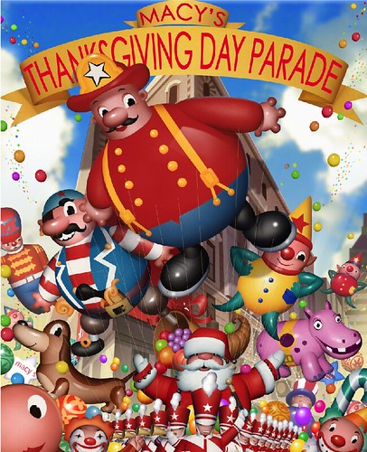 macy s thanksgiving day parade poster client macy s art di flickr