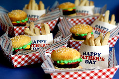 Brownie Burger Cupcakes & Cookie Fries | by Bakerella
