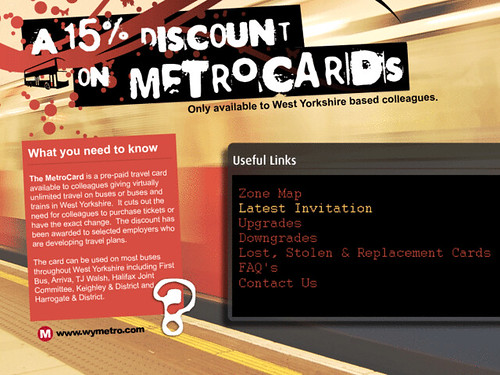 metrocard intranet   to encourage staff to use the metrocard…   flickr