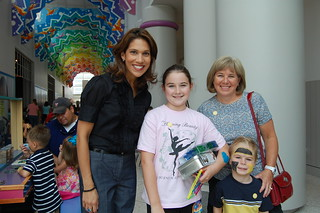 Rachel McNeill Visits CMH | by Children's Museum of Houston