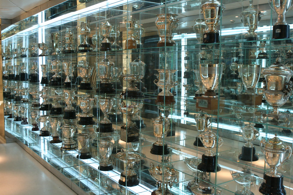 The Start Of Real Madrids Trophy Room