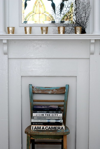 mantel. | by sfgirlbybay