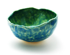Aquatic-Glazed Ice Cream Bowl | by panavatar