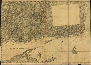 [Chart of the east end of Long Island Sound and the coast of Connecticut and Rhode Island]. | by uconnlibrarymagic